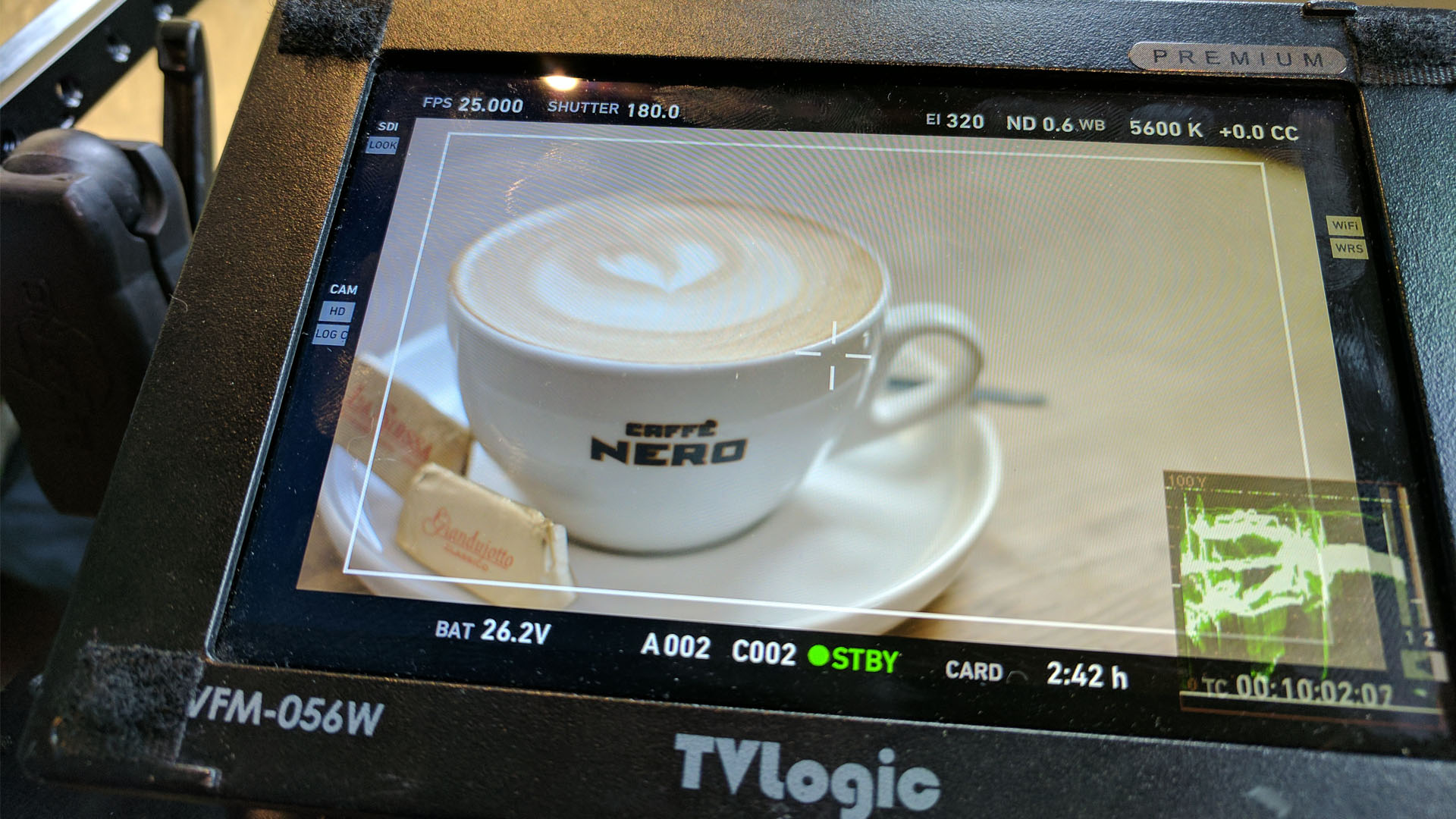 Caffè Nero UK Recruitment Campaign Behind the Scenes Monitor