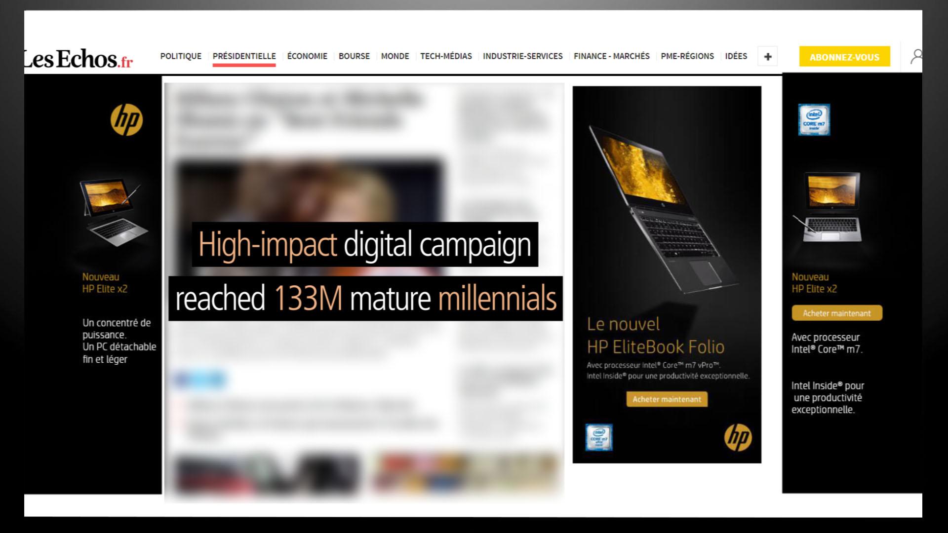 Essence Digital HP EliteBook Laptop digital banners