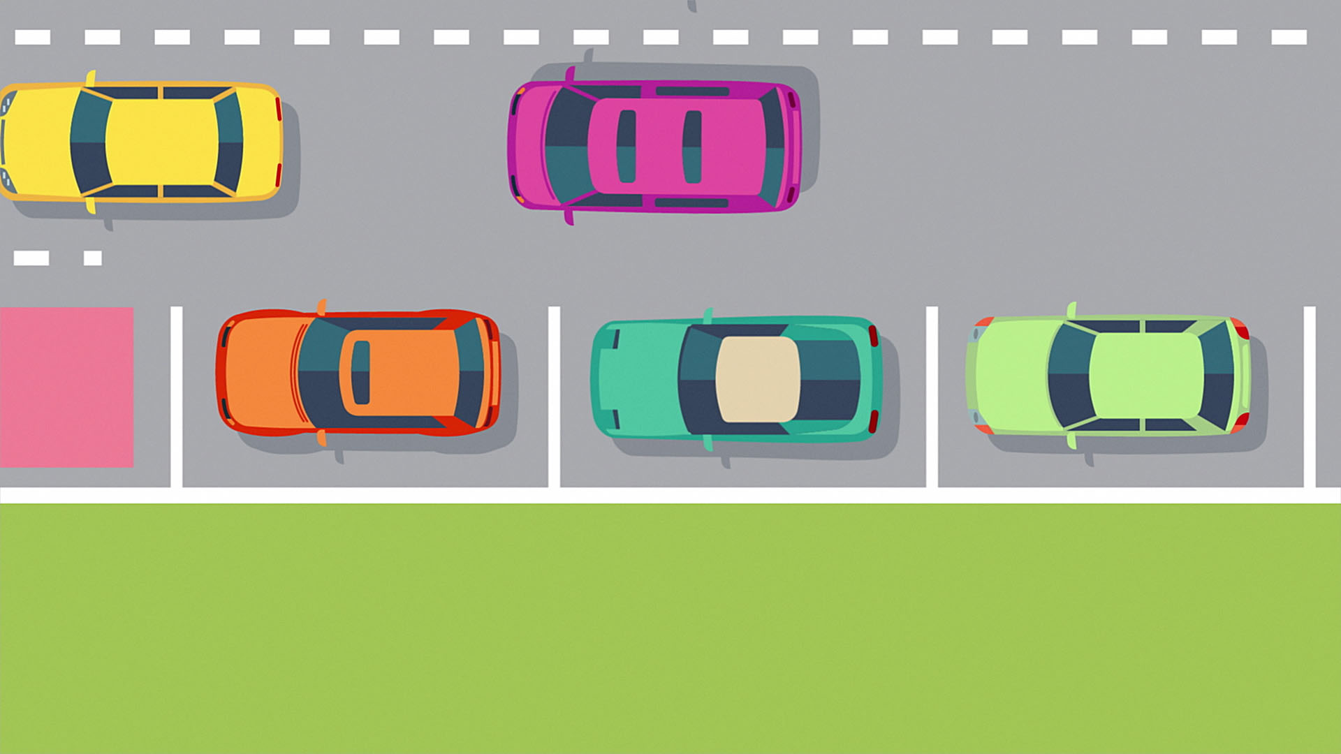 Traffic Penalty Tribunal Car Animation