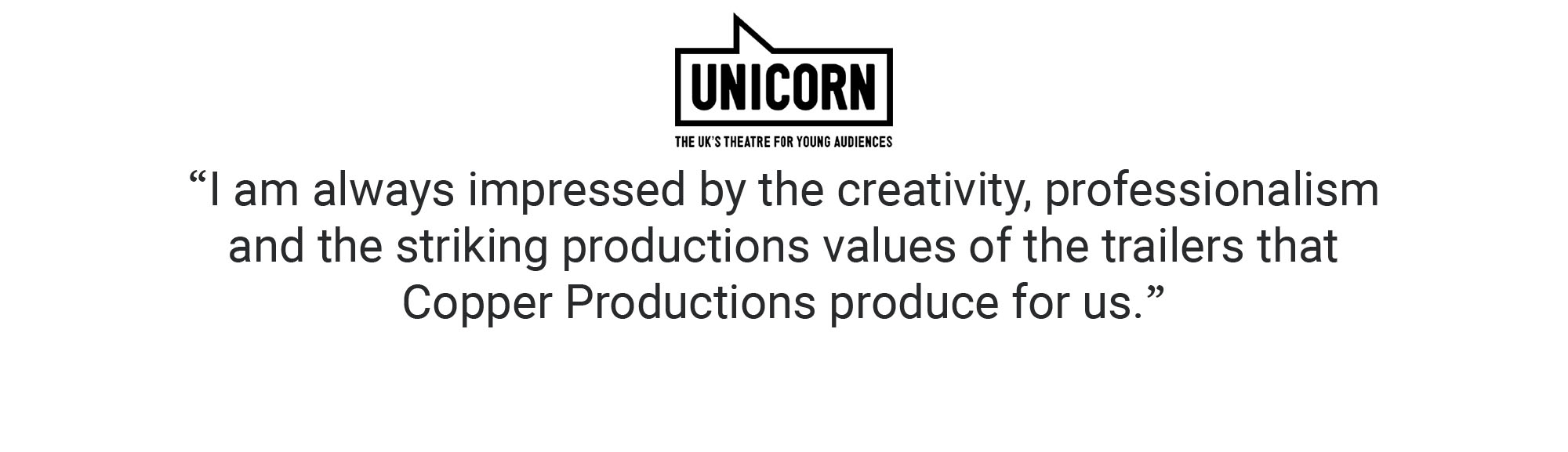 Unicorn Professionalism Creativity Client Testimonial