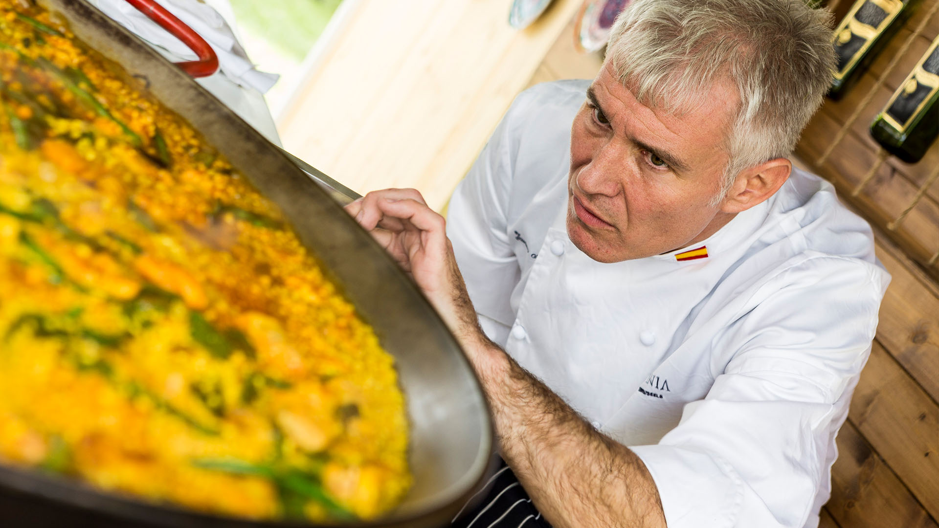 La Espanonola Hispania Hampton Court Food Festival Chef Paella