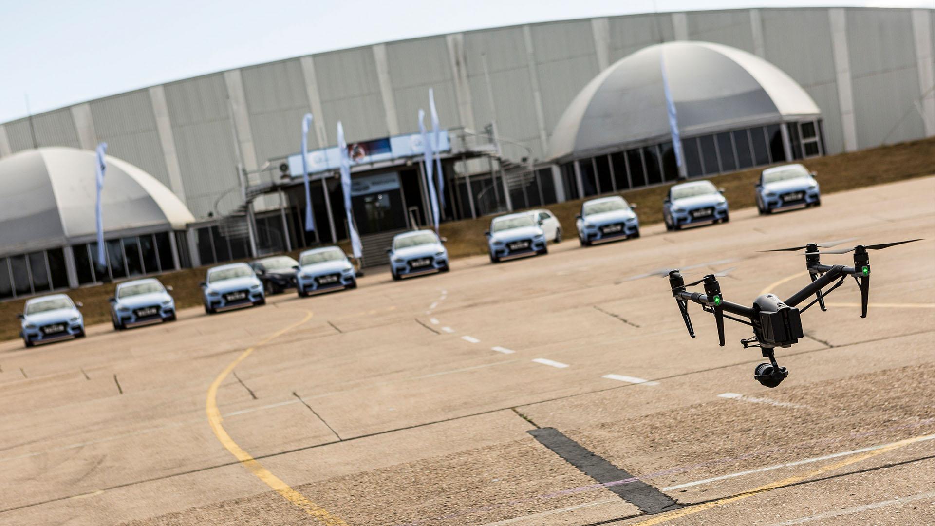 Hyundai i30 N Cars DJI Inspire Drone